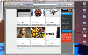 Behance.net front page...oh yeah, baby!