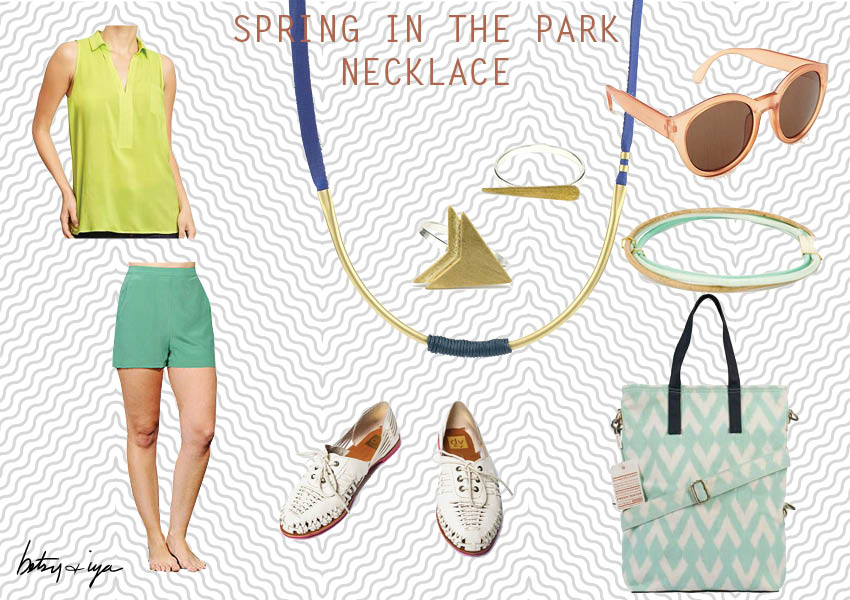 spring in the park_style board