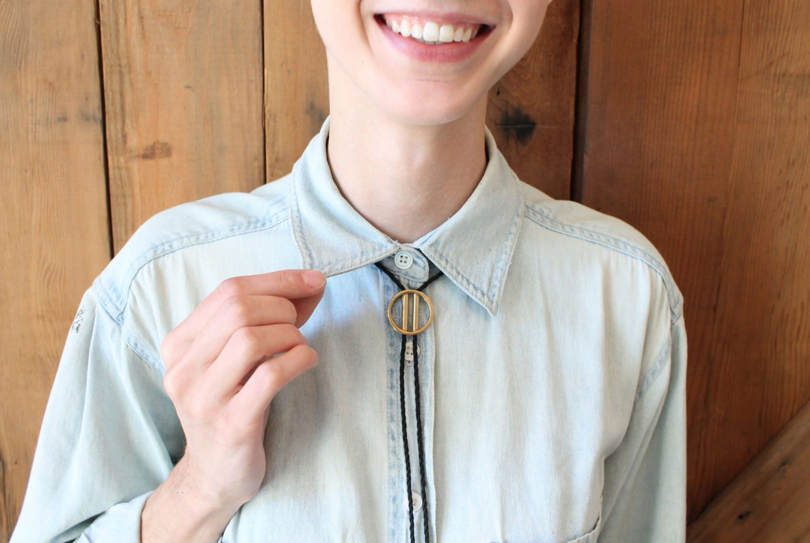 ways to style a bolo necklace