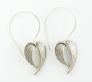 The Silver Wing Starlet earrings