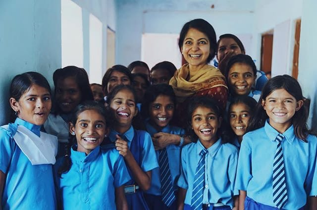 Bloom & Give charitable outreach education program in India - photo from Bloom & Give