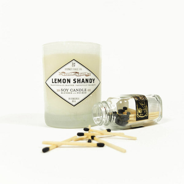 hostess gift sydney hale candle and skeem matches
