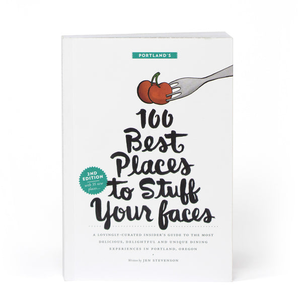 100 Best Places to Stuff Your Faces guidebook