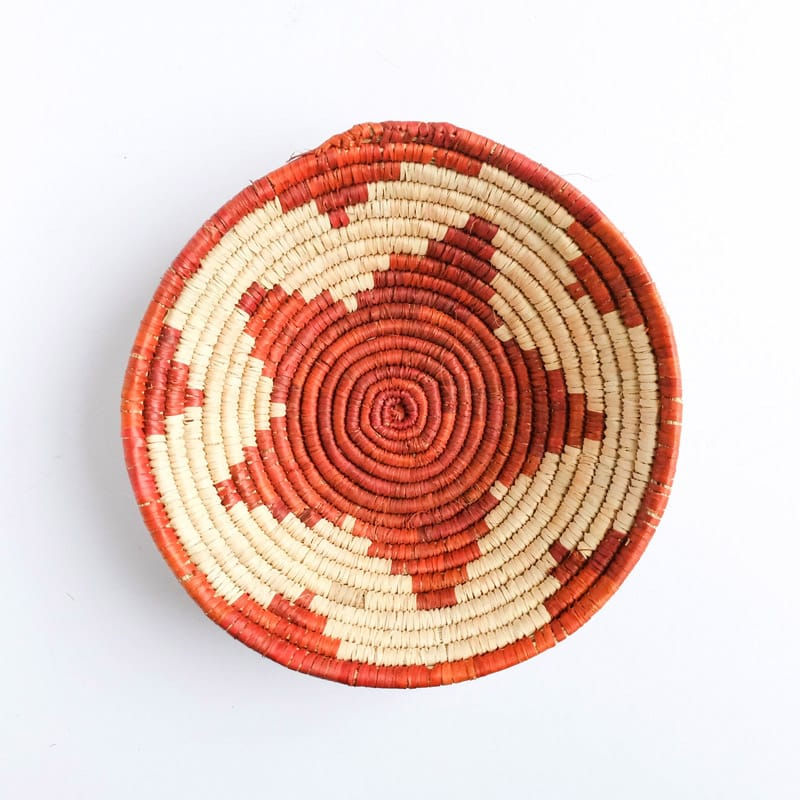 Medium Pakistani Basket with Red Star