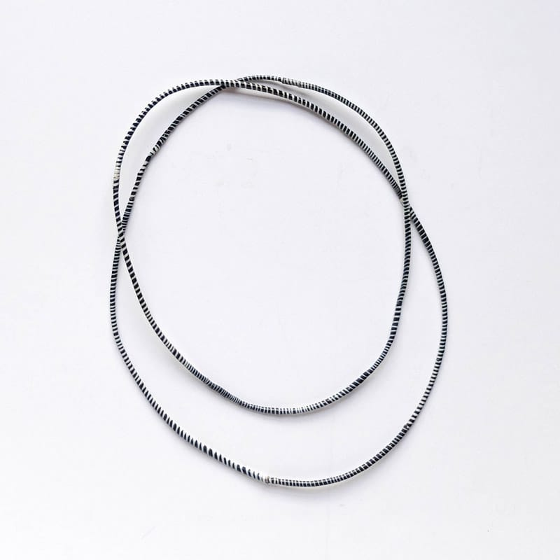 Recycled Rubber Necklaces from Mali