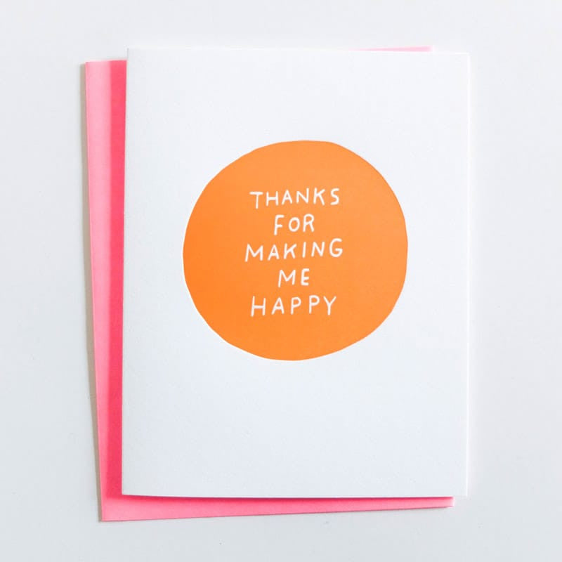 """Making Me Happy"" Card"