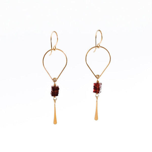 Amy Olson Gwen portland made dangle earrings