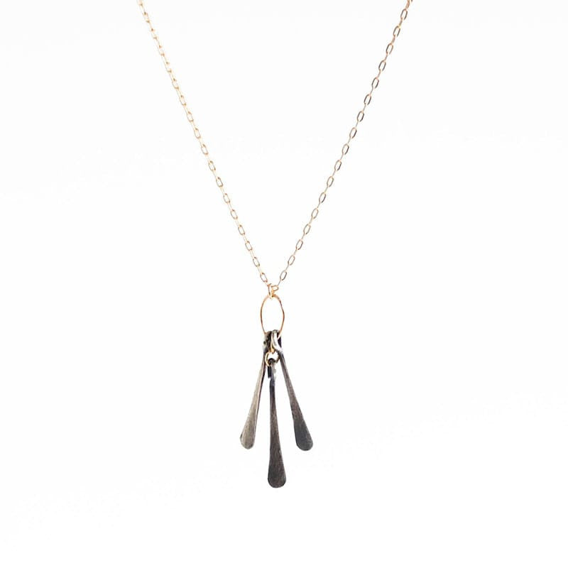 Petite Sterling Fringe Necklace