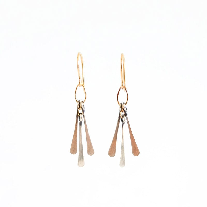 Petite Sterling Fringe Earrings