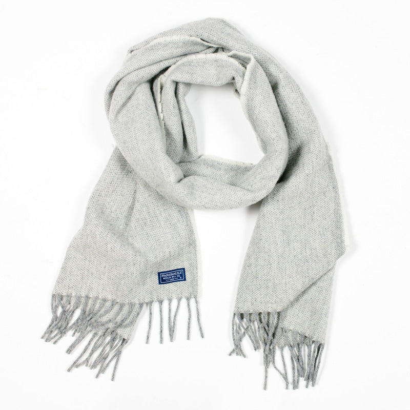 Ashby Twill Scarf in Natural