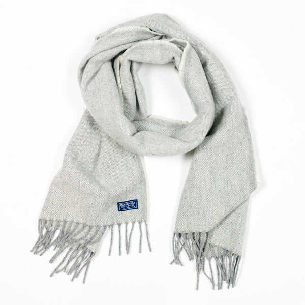Ashby Twill 100% Merino Wool Scarf in Natural by Faribault Woolen Mills