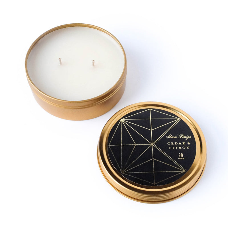 Axiom Travel Candle - Cedar & Citron