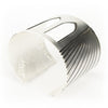 Silver plated Brooklyn Bridge cuff bracelet by betsy & iya.