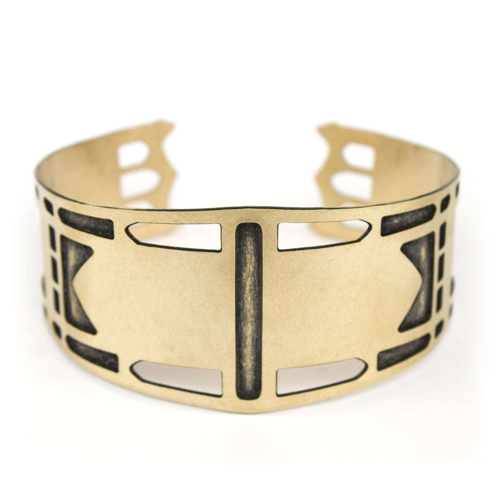 St. Johns Bridge cuff bracelet