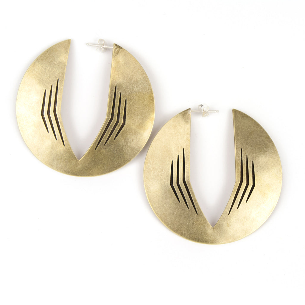 Cathedral Park Hoop earrings