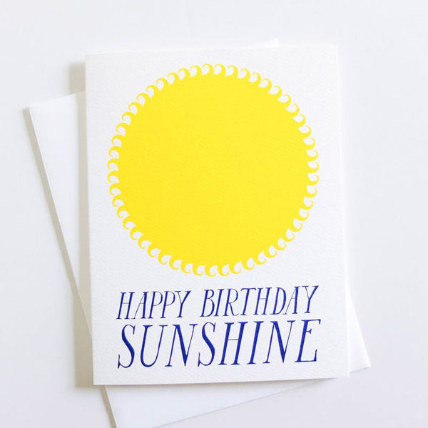 "Banquet Press ""Happy Birthday"" Sunshine Card"