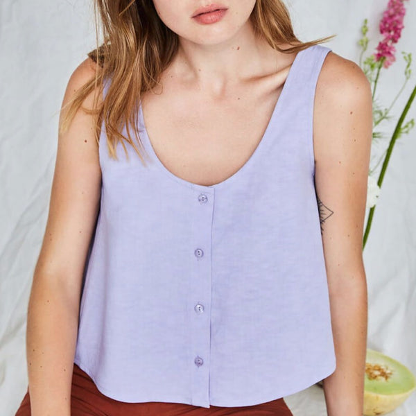 Bellevue Top in Lavender