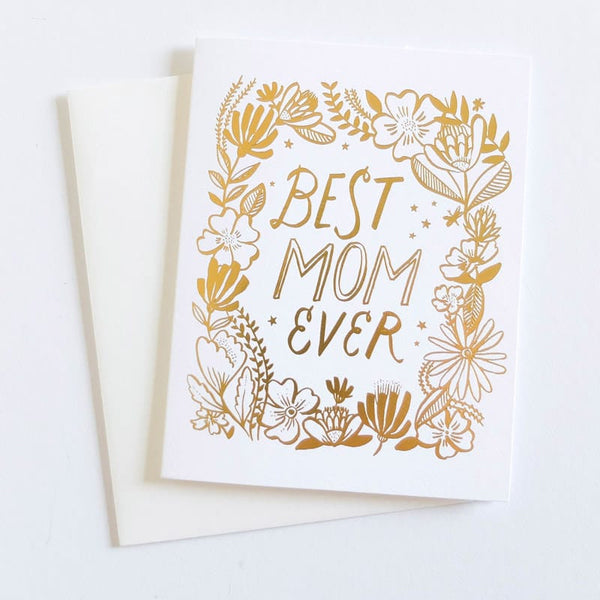 Best Mom Ever Mother's Day Card by Hello Lucky