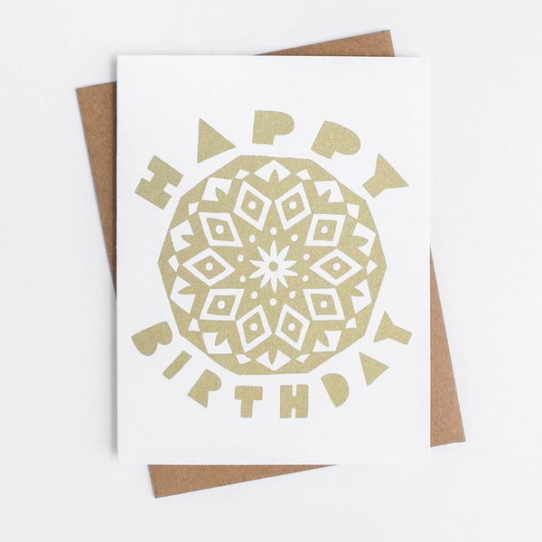 Birthday Mandala Worthwhile Paper Card