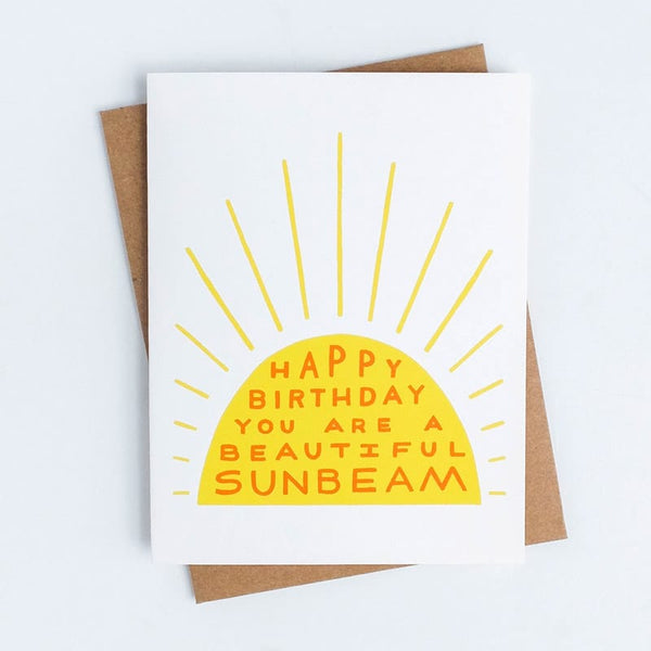 Birthday Sunbeam Worthwhile Paper Card