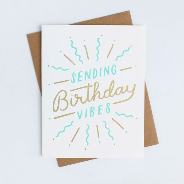 Birthday Vibes Worthwhile Paper Card