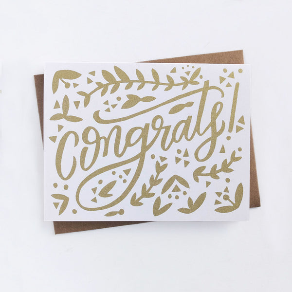 Worthwhile Paper Congrats Card