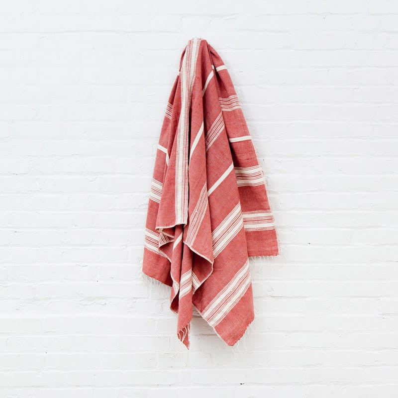 Aden Cotton Bath Towel - Adobe
