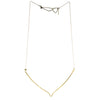 betsy & iya Southern Lights necklace with silver finish