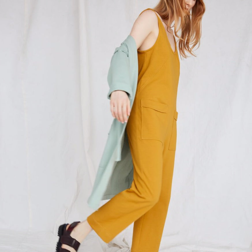 Owen Jumpsuit in Marigold