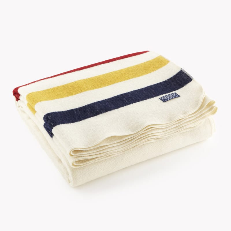 Revival Stripe Throw - Natural