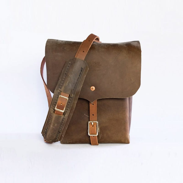 Goertzen Adventure Equipment Field Guide Leather Bag Brown