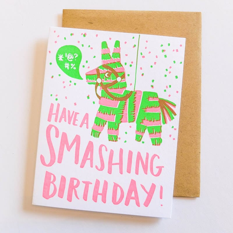 """Have a Smashing Birthday"" Card"