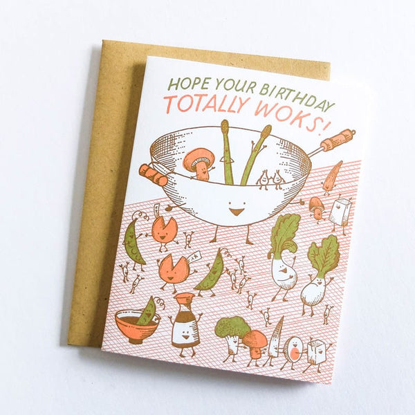 Hope Your Birthday Woks Card