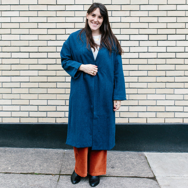 Julieta Coat Blue