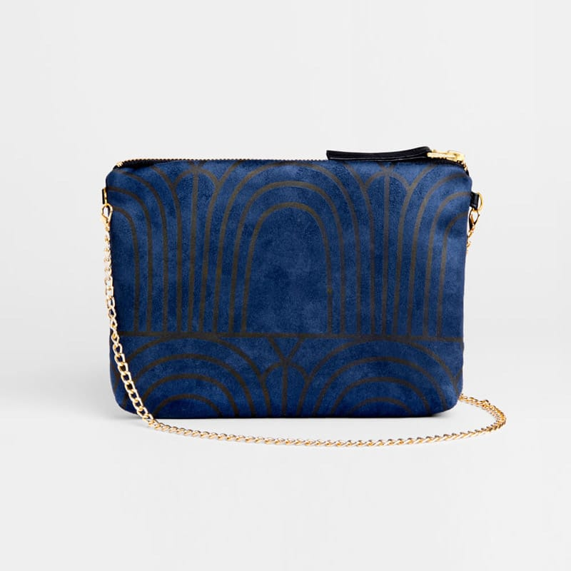 Dulce Clutch & Strap Bag - Arches Indigo