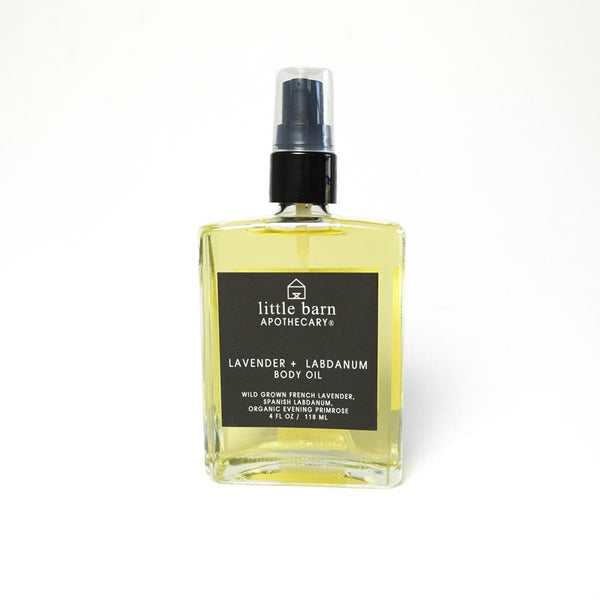Little Barn Apothecary Lavender & Labdanum Body Oil