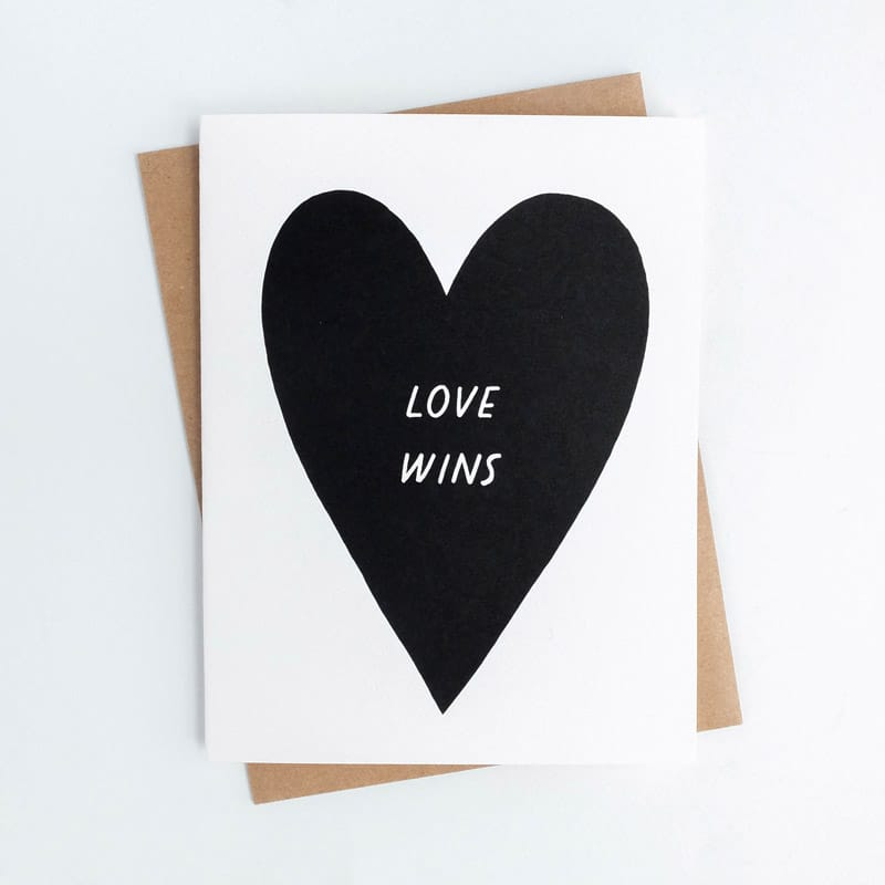 Love Wins Card
