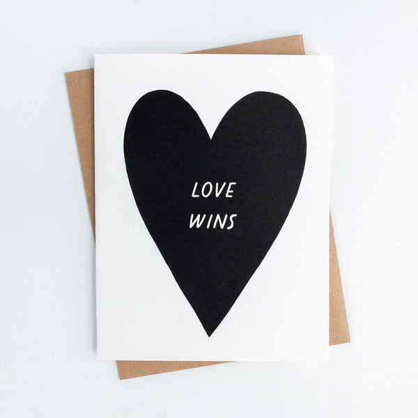 Love Wins Worthwhile Paper Card