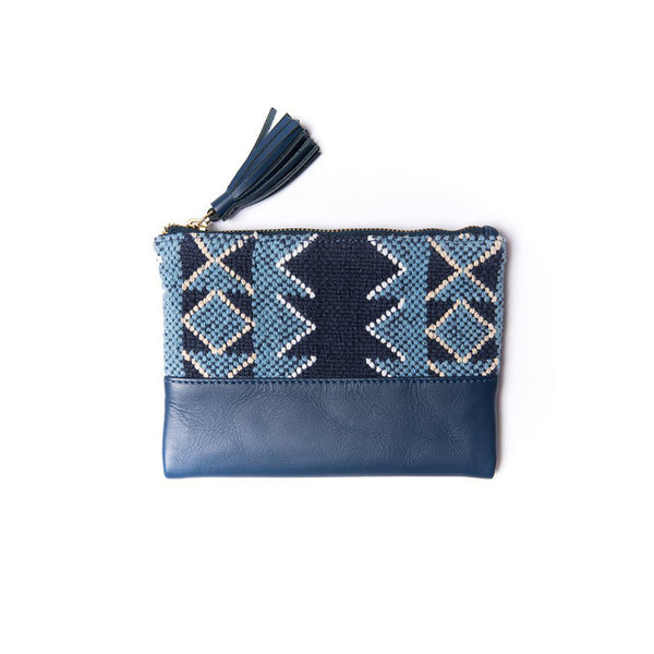 Luna Pouch in Indigo by Bloom & Give
