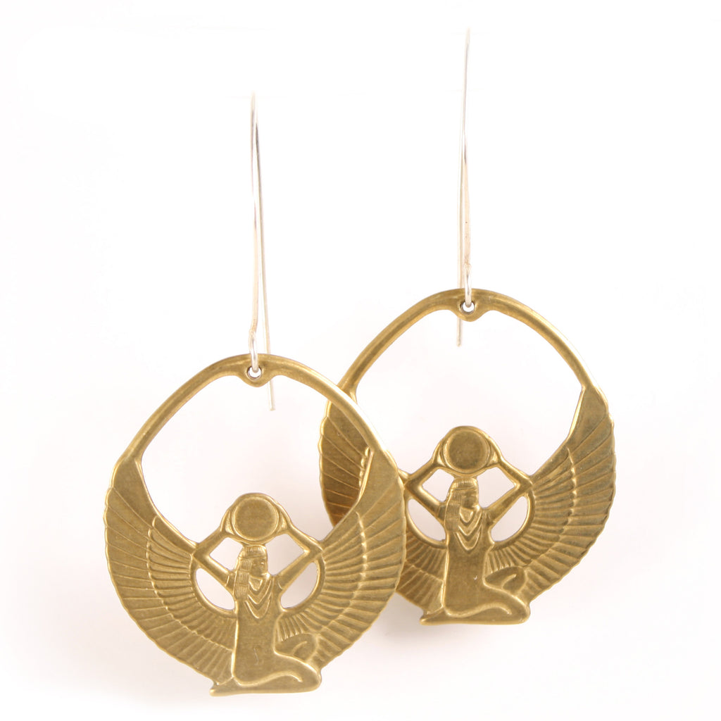 Egyptian Isis Goddess earrings