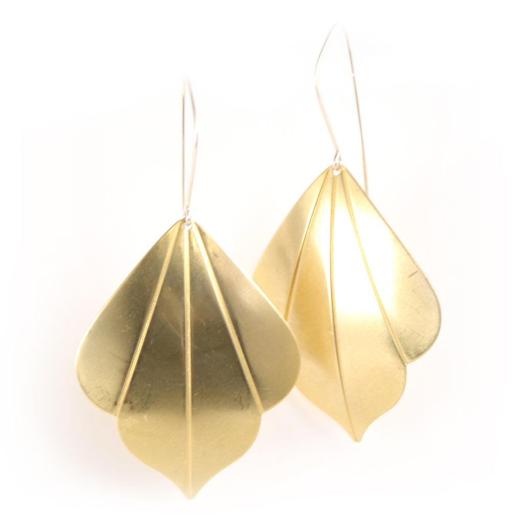 Leafy Deco earrings