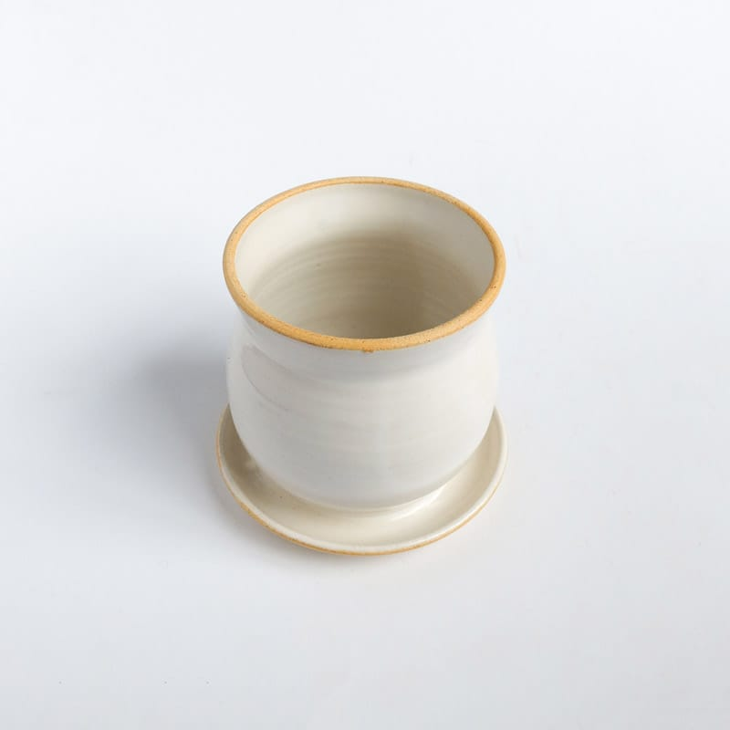 Medium Planter White/Cream Solid