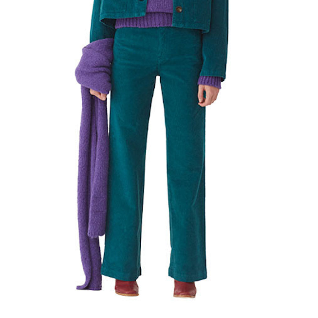 Milton Pants in Teal