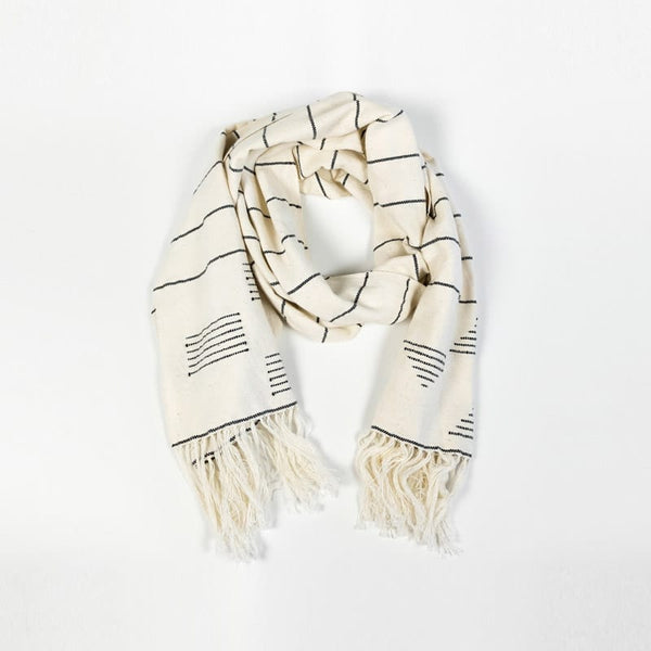 Minna Scarf Stripes & Blocks