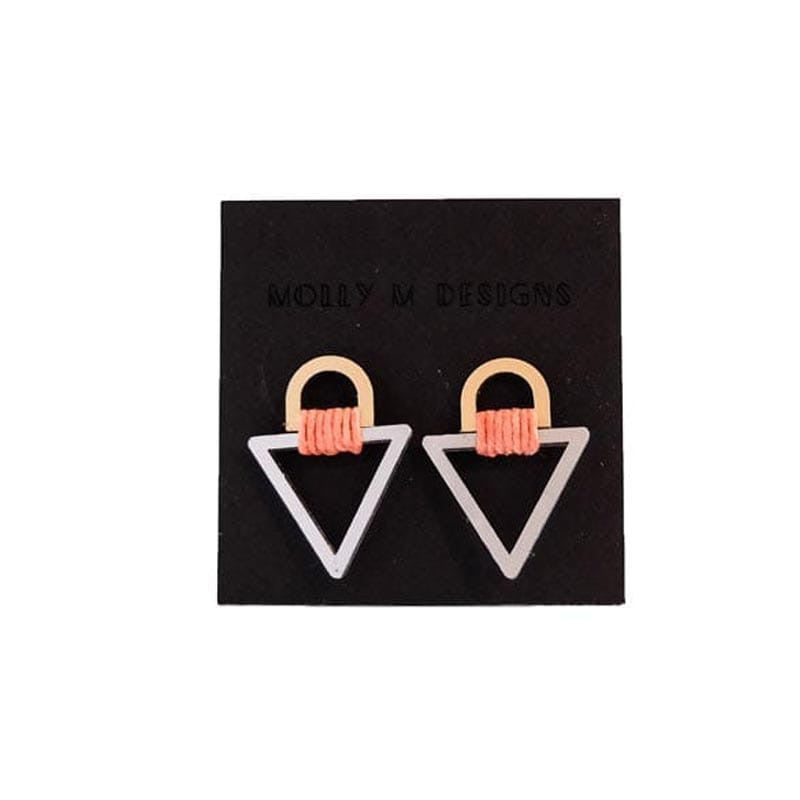 Tab Triangle Stud 1 Earrings