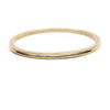 Sturdy, circular, cast-bronze bangle bracelet, featuring one long, slim, cutout slit in the metal. Hand-crafted in Portland, Oregon.