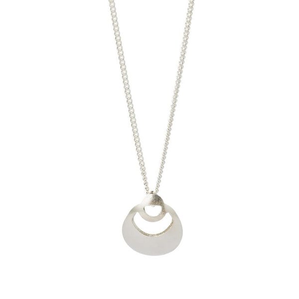 Nilo sterling silver mini pendant necklace focal