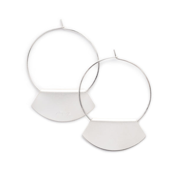 Novi hoop earrings