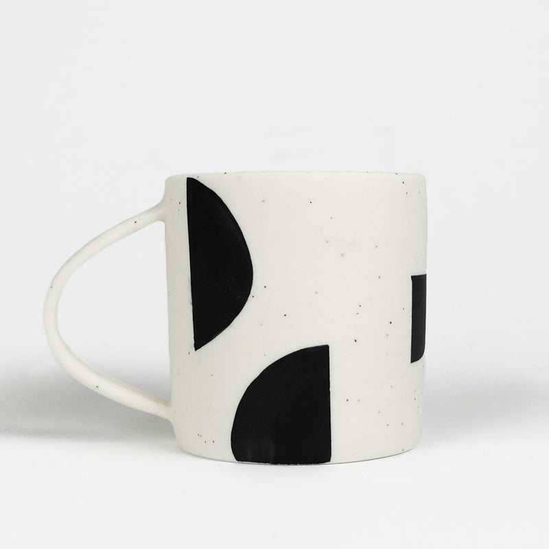 Small Mug - Chunky Shapes