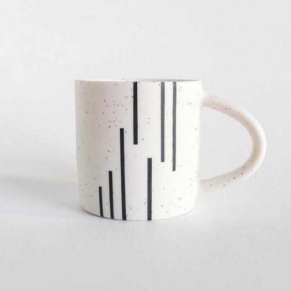 Small Mug - Vertical Lines